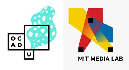 OCAD U and MIT Media Lab logos